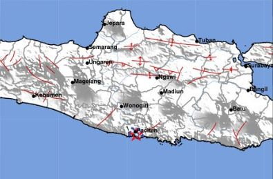 Jatim Dilanda 65 Kali Gempa pada November