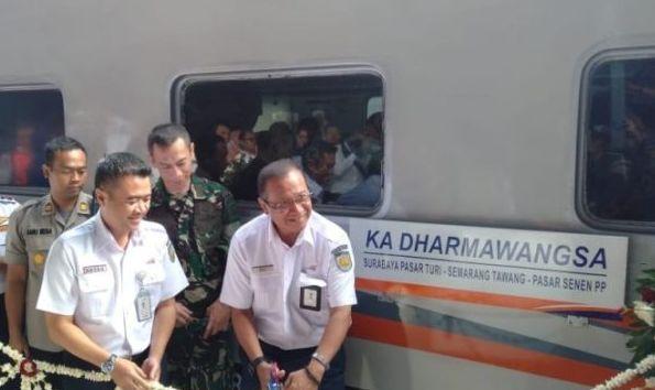 KA Dharmawangsa Senen-Turi Resmi Diluncurkan, Segini Tarifnya